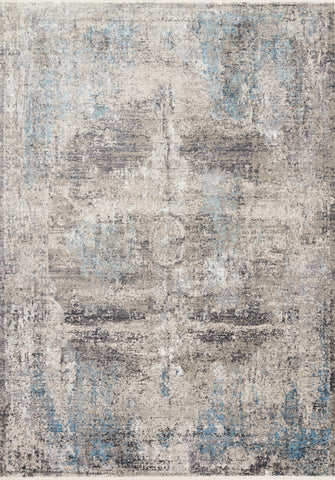 Franca Rug in Slate / Sky by Loloi