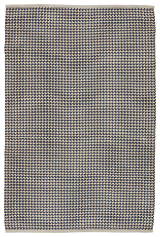 Houndz Indoor/ Outdoor Trellis Dark Blue & Cream Rug by Jaipur Living