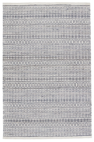 Galway Natural Trellis Slate & Ivory Rug by Jaipur Living