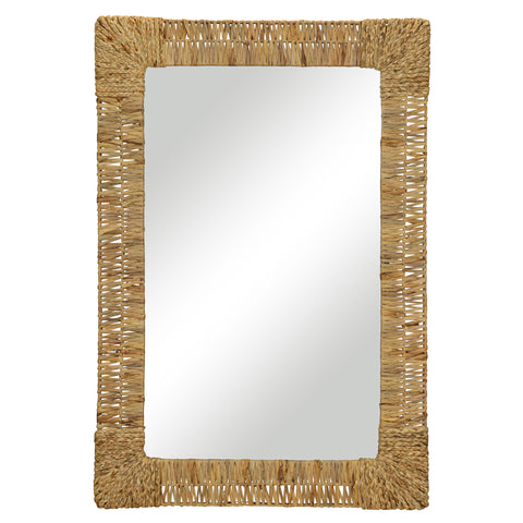 Folha Rectangular Mirror by Selamat
