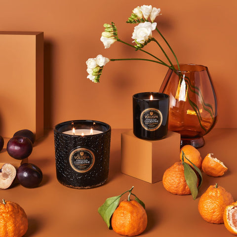 Freesia Clementine Luxe Candle
