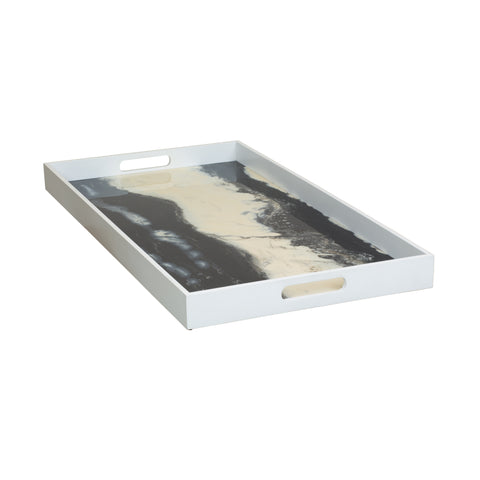 Farallon Rectangular Tray by Selamat