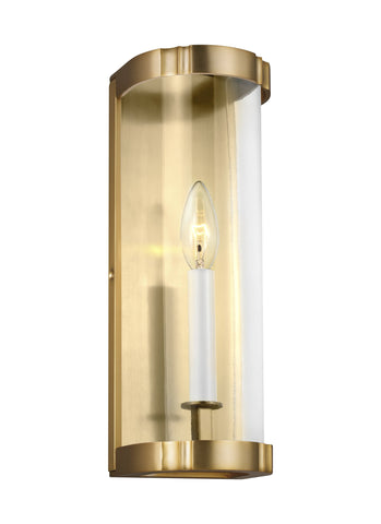 Thompson Clear Glass Sconce by AH by Alexa Hampton