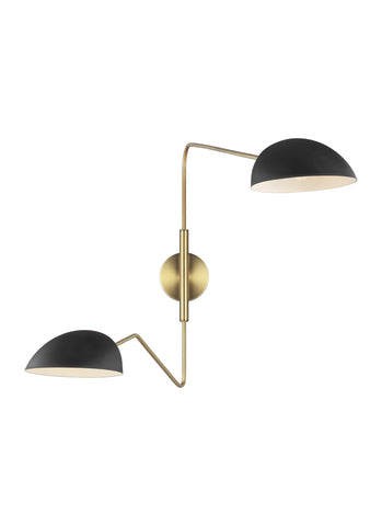 Jane Double Task Sconce