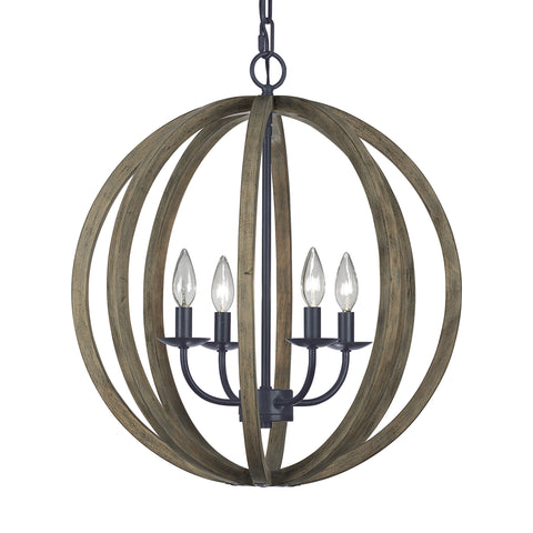 Allier Collection 4 - Light Pendant fixture by Feiss