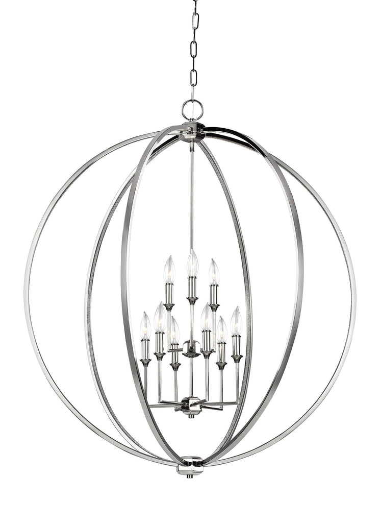 Corinne Collection 9 - Light Chandelier by Feiss