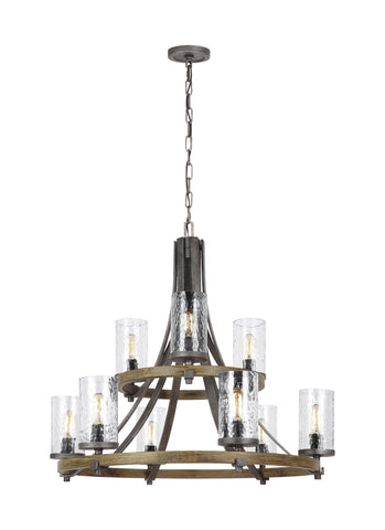Angelo Collection 9 - Light Chandelier by Feiss