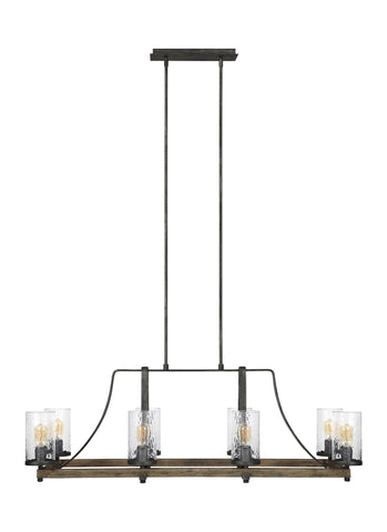Angelo Collection 8 - Light Island Chandelier by Feiss