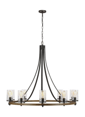 Angelo Collection 10 - Light Chandelier by Feiss