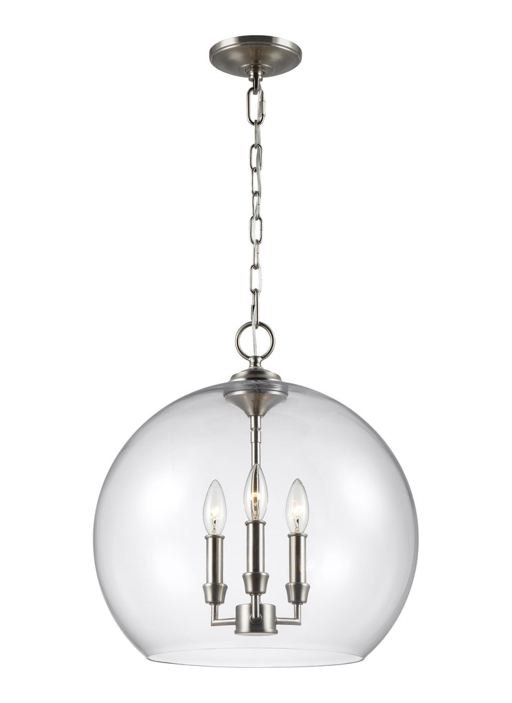 Lawler Orb Pendant by Feiss