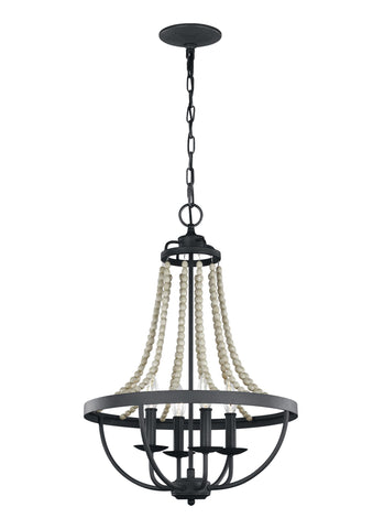 Nori Collection 4 - Light Chandelier by Feiss