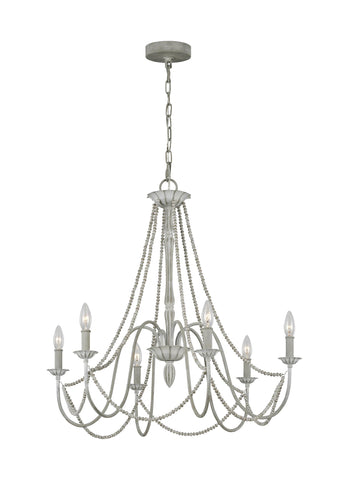 Maryville Collection 6 - Light Chandelier by Feiss