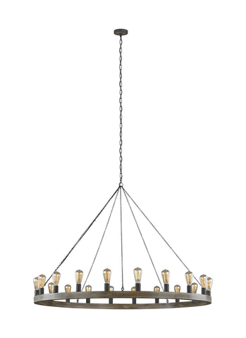 Avenir Collection 20-Light Chandelier by Feiss
