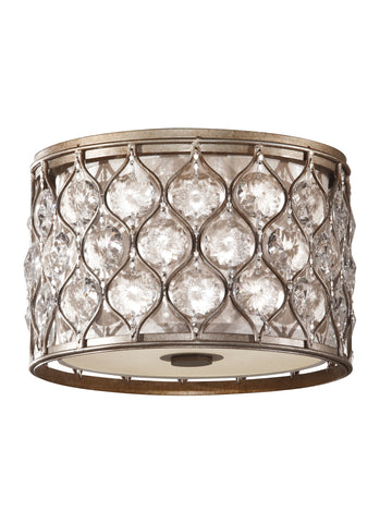 Lucia Collection 2 - Light Indoor Flush Mount by Feiss