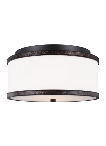 Marteau Collection 2 - Light Indoor Flush Mount by Feiss