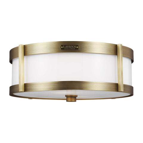 Flynn Medium Flush Mount by Lauren Ralph Lauren