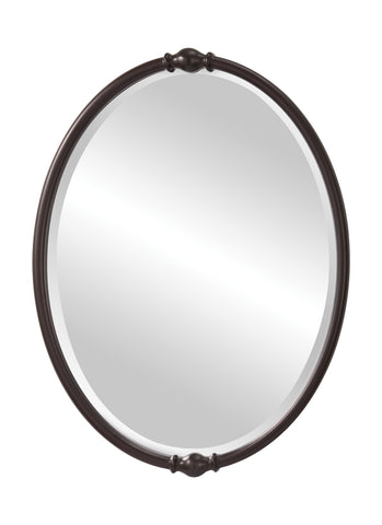 Jackie Collection Oil Rubbed Bronze Mirror by Feiss