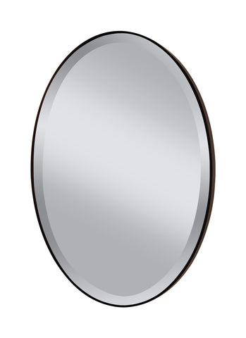 Johnson Oval Mirror by Feiss