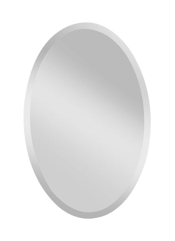 Infinity Large Oval Mirror by Feiss