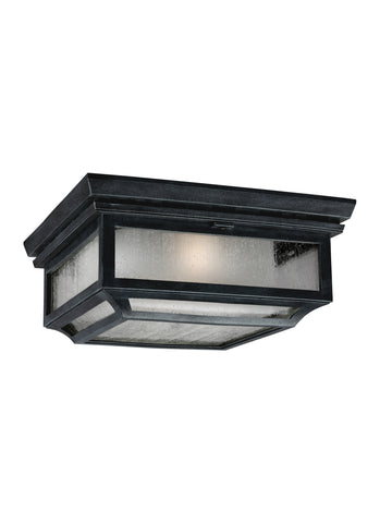Shepherd Collection 2 - Light Outdoor Flush by Feiss