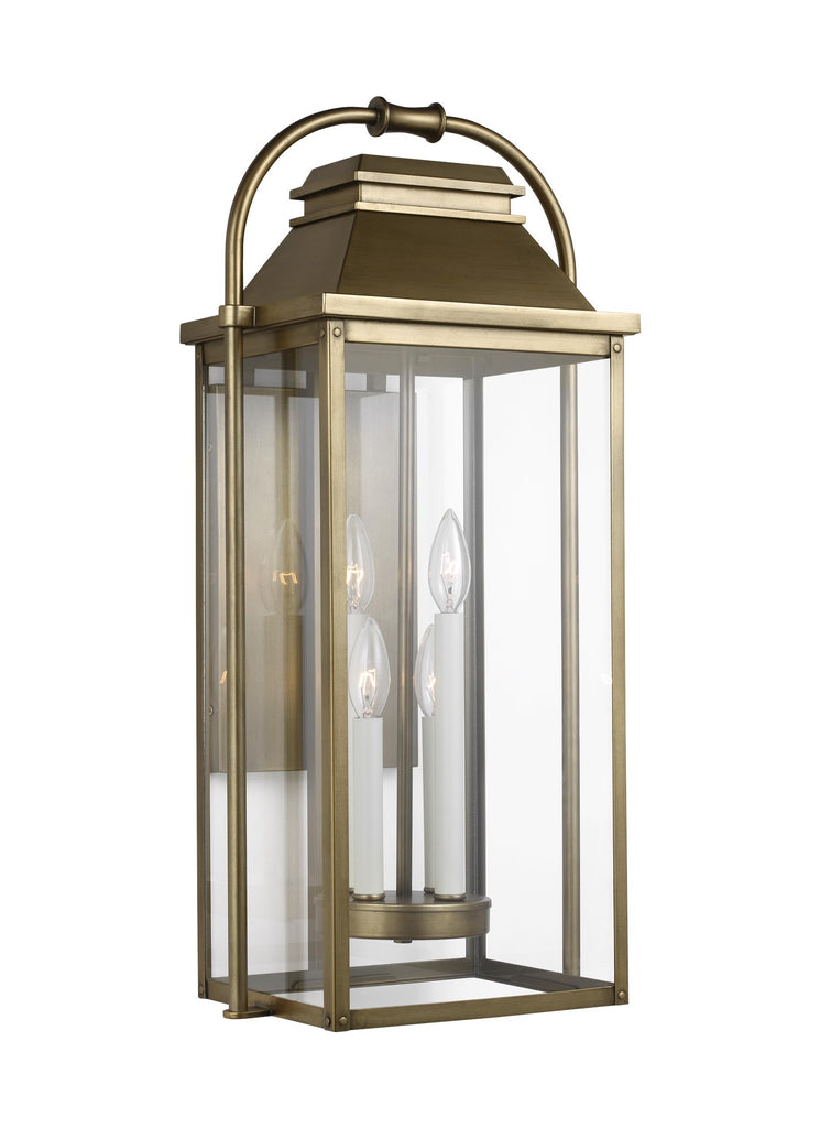 Wellsworth Collection 4 - Light Outdoor Wall Lantern by Feiss
