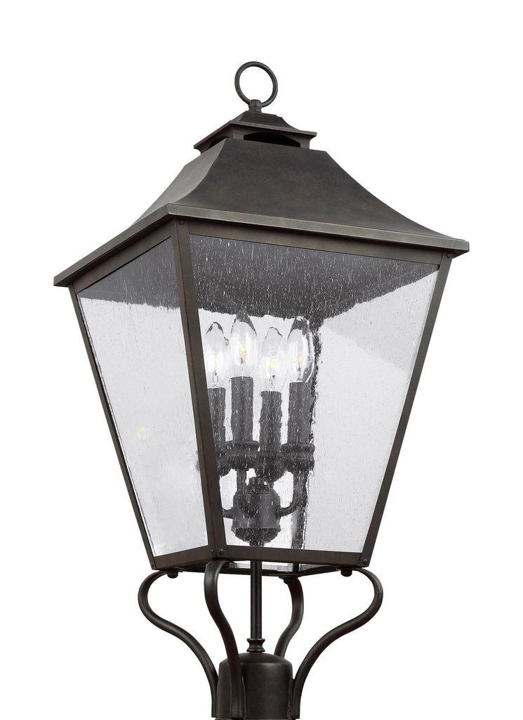 Galena Collection 4 - Light Post/Pier Lantern by Feiss