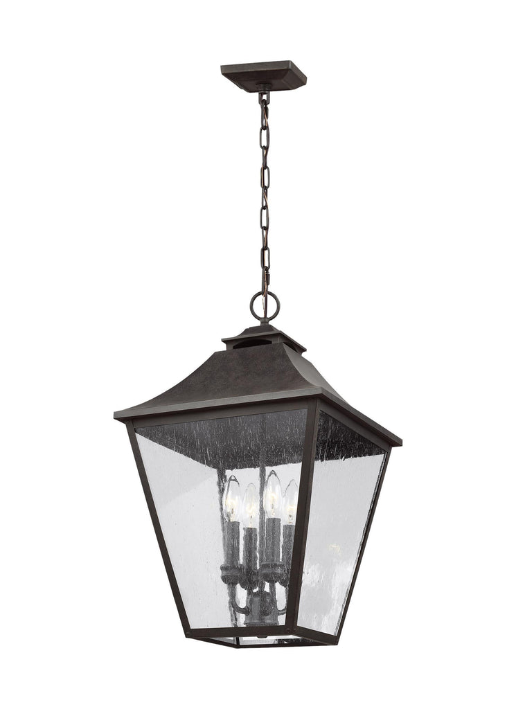 Galena Small Pendant by Feiss