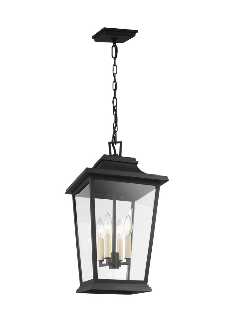 Warren Collection 4 - Light Outdoor Pendant by Feiss