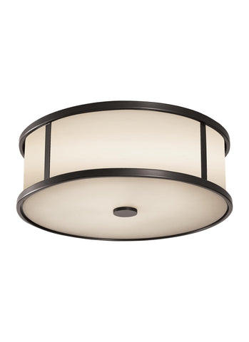 Dakota Collection 3 - Light Ceiling Fixture by Feiss