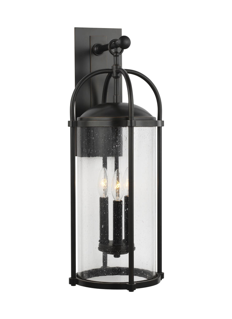 Dakota Collection 3 - Light Wall Lantern by Feiss
