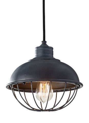 Urban Renewal Collection 1-Light Pendant by Feiss