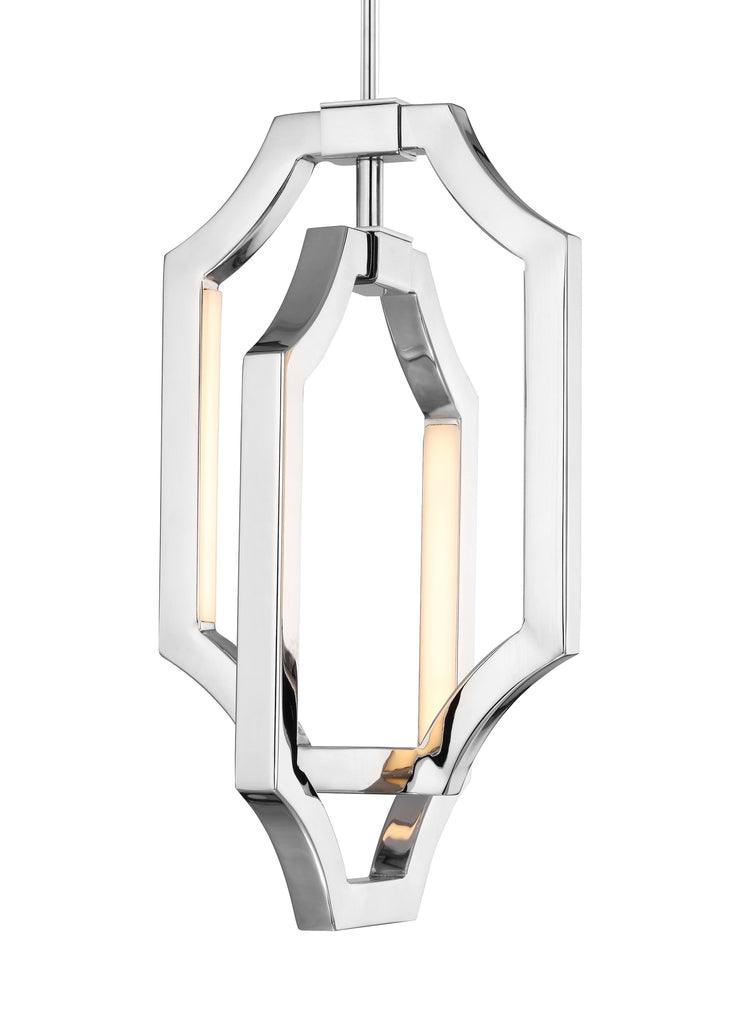 Audrie Collection 4 - Light Mini Audrie Pendant by Feiss