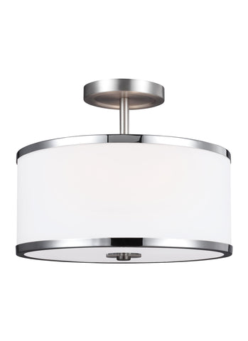 Prospect Park Collection 2 - Light Semi-Flush by Feiss