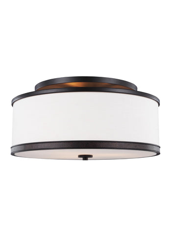 Marteau Collection 3 - Light Indoor Semi-Flush Mount by Feiss