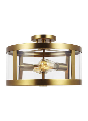 Harrow Collection 2 - Light Semi Flush Mount by Feiss