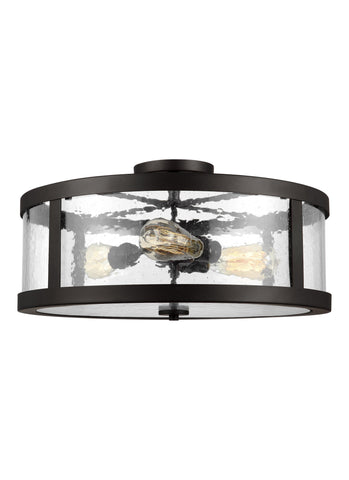 Harrow Collection 3 - Light Semi Flush Mount by Feiss
