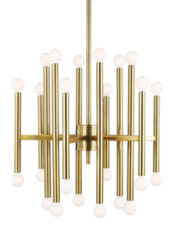 Beckham Modern Medium Chandelier by TOB By Thomas O'Brien
