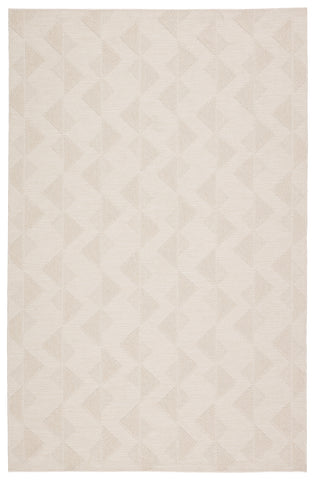 Zemira Indoor/ Outdoor Geometric Cream Rug by Jaipur Living