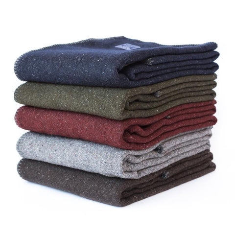 Wool Utility Blanket design by Faribault