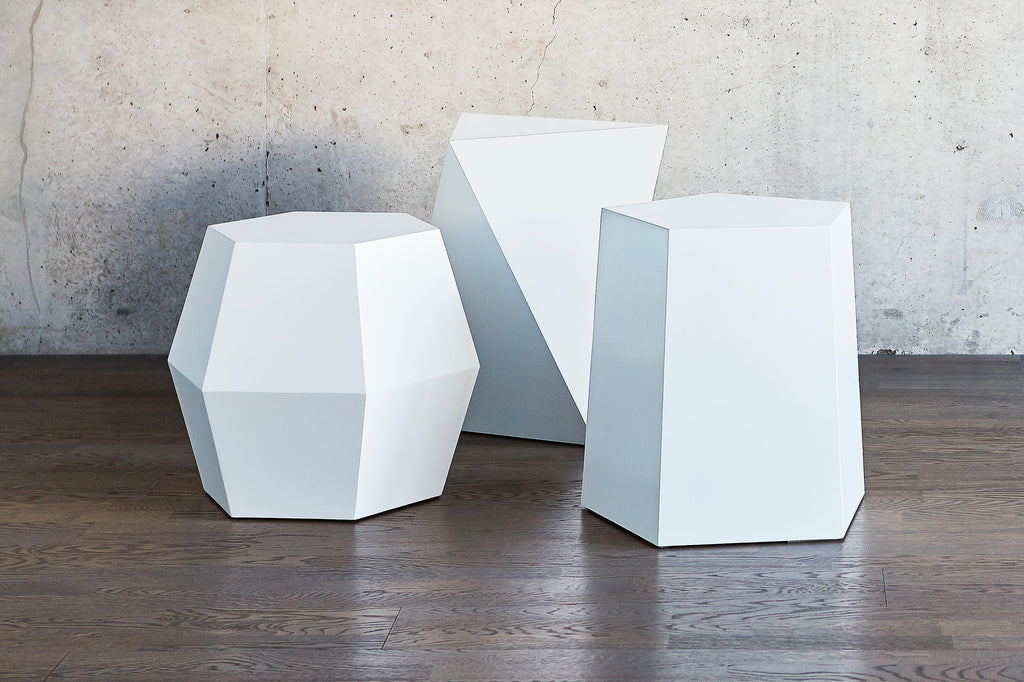 Facet-7 End Table design by Gus Modern