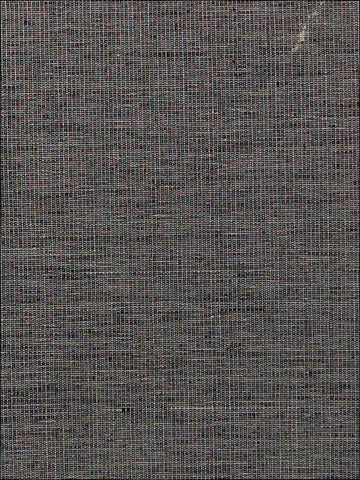 Faint Metallic Weave Wallpaper in Dark Grey from the Sheer Intuition Collection by Burke Decor