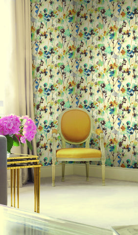 Faravel Wallpaper from the Lugano Collection by Seabrook Wallcoverings