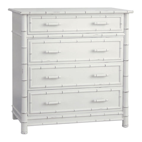 Faux Bamboo Dresser in Various Finishes