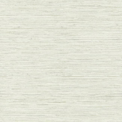 Faux Weave Grasscloth Peel & Stick Wallpaper in Beige and Grey by RoomMates for York Wallcoverings