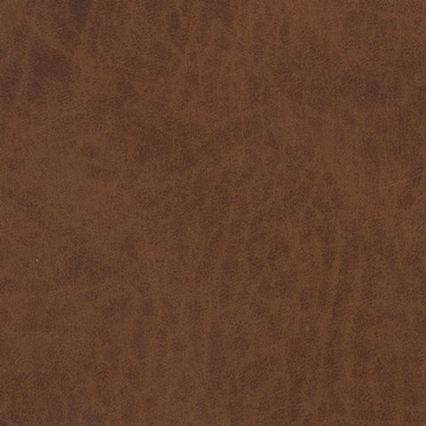 Faux Auburn Leather Contact Wallpaper by Burke Decor