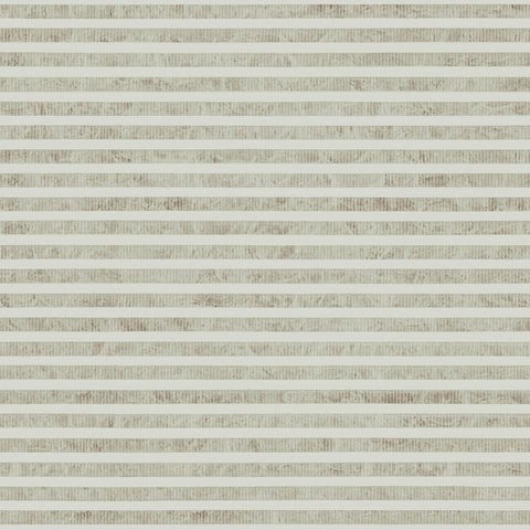 Faux Capiz Wallpaper in Putty and Brown from the Natural Opalescence Collection by Antonina Vella for York Wallcoverings