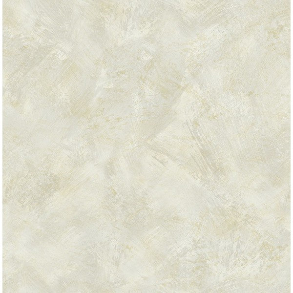 Sample Faux Wallpaper in Off-White from the French Impressionist Collection by Seabrook Wallcoverings