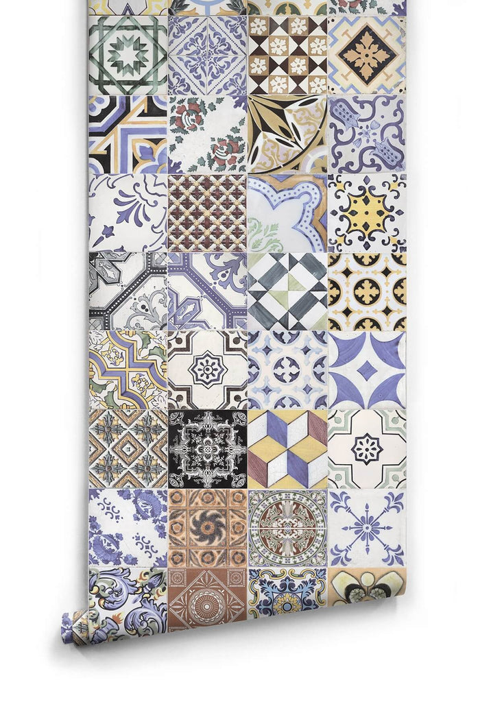 Federation Tiles Wallpaper design by Milton & King