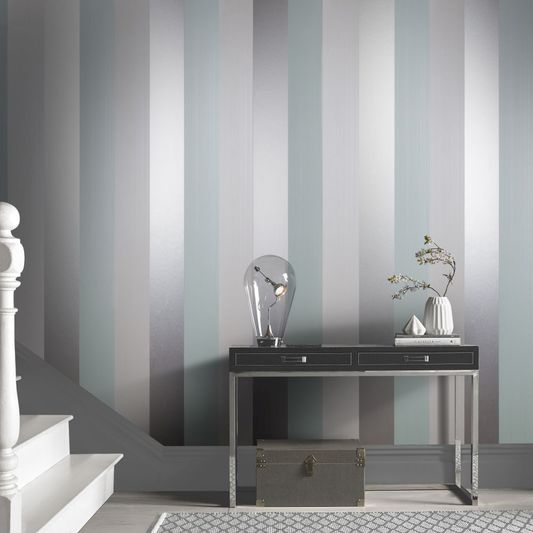 Figaro Ocean Wallpaper from the Exclusives Collection by Graham & Brown