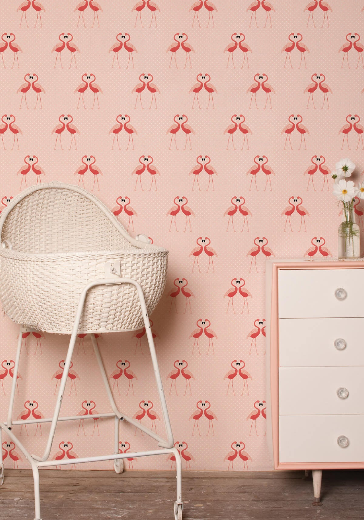 Calendar Wallpaper Love Mae : Flamingos wallpaper from the love mae collection by milton
